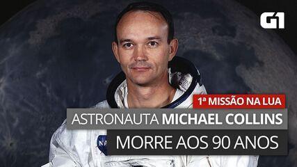 VÍDEO: Veja imagens de Michael Collins, comandante da primeira missão do homem à lua