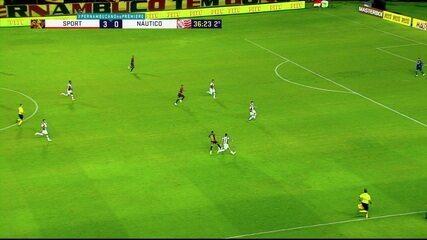 Melhores momentos: Sport 3 x 0 Náutico, pela 9ª rodada do Campeonato Pernambucano
