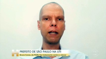Prefeito de São Paulo está na UTI