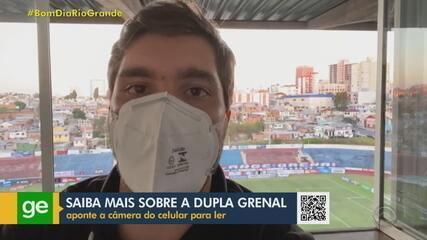 Repórter Eduardo Moura atualiza as informações da semana sobre o Grêmio