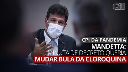"""Mandetta diz que Bolsonaro tinha """"assessoramento paralelo"""""""