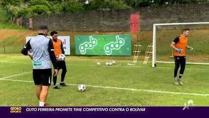 Guto Ferreira promete time competitivo contra Bolívar