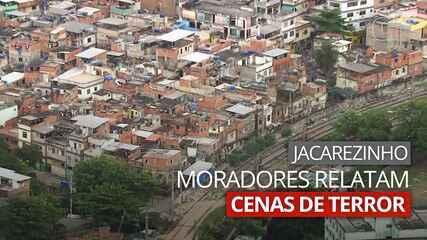 VÍDEO: Moradores relatam cenas de terror no Jacarezinho