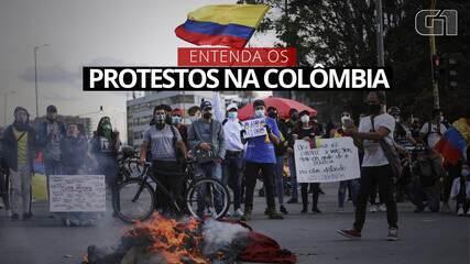 Entender las protestas en Colombia: El plan para subir los impuestos genera descontento