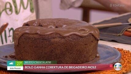 Bolo de Chocolate do Fiuk