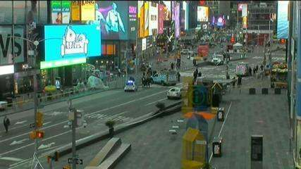 Sobe para três o número de feridos em tiroteio na Times Square, em Nova York