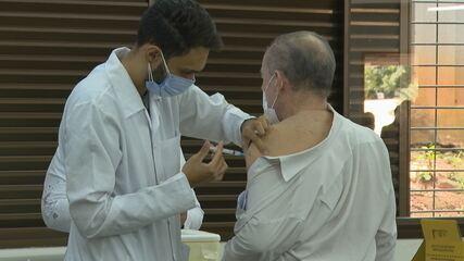 VÍDEO: Vacinação contra a Covid-19, em Goiânia
