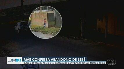 Mãe é presa suspeita de jogar recém-nascido em lote baldio e matar bebê queimado, em Goiás