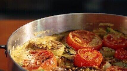 Fritada de tomates