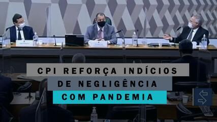 Depoimentos à CPI reforçam indícios de negligência de Bolsonaro com pandemia