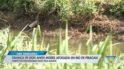 Bombeiros encontram corpo de menino de 2 anos que desapareceu em rio em Piracaia