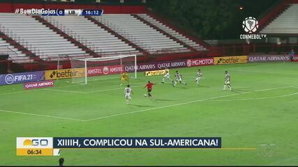 Atlético-GO empata com Libertad e se complica na Copa Sul-Americana
