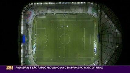 Palmeiras e São Paulo empatam no jogo de ida da final paulista