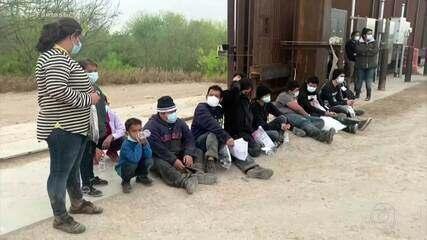Veja o que acontece com imigrantes que cruzam ilegalmente a fronteira do México com os EUA