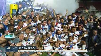 São Paulo é campeão do Paulista 2021