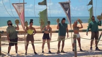 Tribo Calango vence a Prova da Imunidade