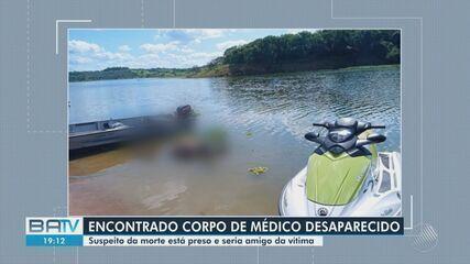 Suspeito de matar médico na Bahia foi o amigo que registrou desaparecimento