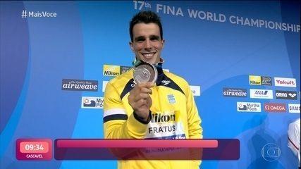 Bruno Fratus se prepara para os Jogos Olimpicos de Tóquio