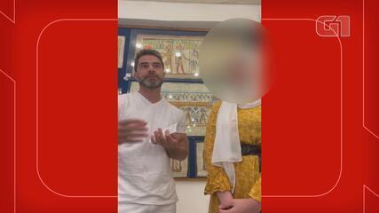 VÍDEO COMPLETO: Médico do RS pede desculpas a vendedora no Egito