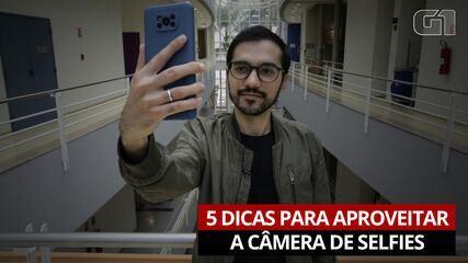 5 dicas para aproveitar a câmera de selfies do seu celular