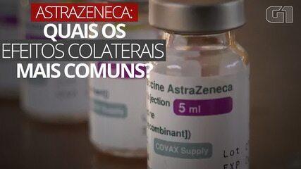 Vacina AstraZeneca: quais os efeitos colaterais mais comuns?