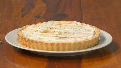 Receita Nosso Campo: aprenda a preparar uma torta de limão