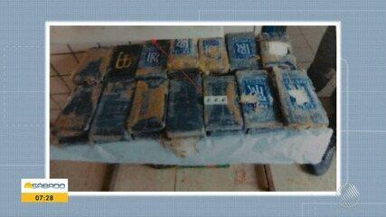 Pacotes de pasta base de cocaína são encontradas em praia de Nova Viçosa