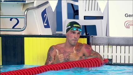 Bruno Fratus conquista o ouro nos 50m livre no Mare Nostrum 2021 em Barcelona