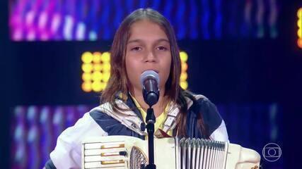 Edu Lima Sanfoneiro canta 'Verdadeiro Amor' no 'The Voice Kids'