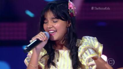 Anna Clara Dias canta 'No Dia Em Que Saí De Casa' no 'The Voice Kids'