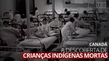 VÍDEO: A aterrorizante descoberta dos restos mortais de 215 crianças indígenas no Canadá