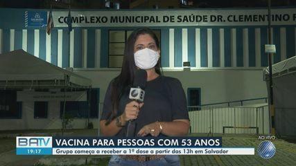 Prefeitura promove mutirão da idade para vacinação contra Covid-19 em Salvador