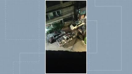 Vídeo mostra barulho de fogos de artifício no bairro São Benedito, em Vitória