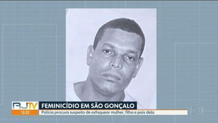 Polícia procura homem que matou a mulher a facadas em São Gonçalo
