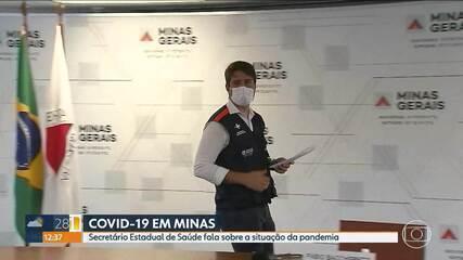 Secretário Estadual de Saúde fala sobre o ritmo de vacinação contra a Covid-19 em Minas