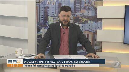 Adolescente é morto a tiros dentro de barbearia onde trabalhava no sudoeste da Bahia
