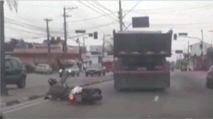 Suspeito de roubar caminhão em Arujá é preso em Mogi das Cruzes