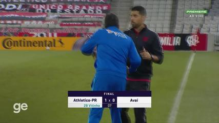 Melhores momentos de Athletico-PR 1 x 0 Avaí - jogo de volta 3ª fase Copa do Brasil 2021
