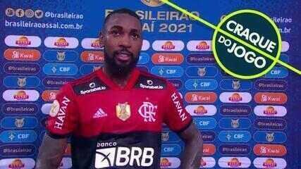 """Eleito craque do jogo, Gérson fala sobre últimos momentos com a camisa do Flamengo: """"Quero só aproveitar"""""""
