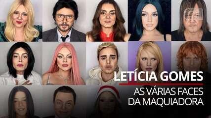 VÍDEO: As várias faces da maquiadora Letícia Gomes