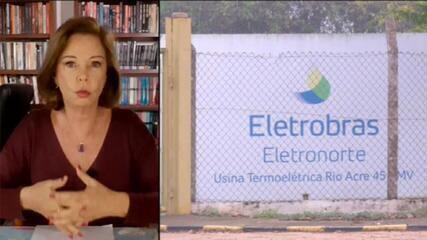 Eliane sobre privatização da Eletrobras: 'Mais uma vez, prevaleceu o interesse político'