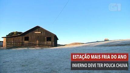 VÍDEO: Inverno começa nesta segunda (21)