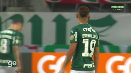 Melhores momentos de Palmeiras 3 x 2 Bahia pela 7ª rodada do Brasileirão 2021