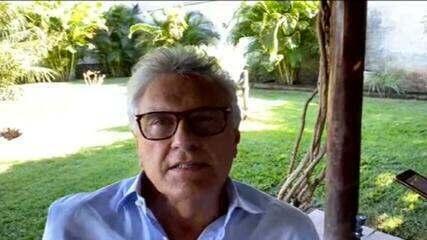 VÍDEO: Governador de GO fala como foi a prisão de Lázaro Barbosa