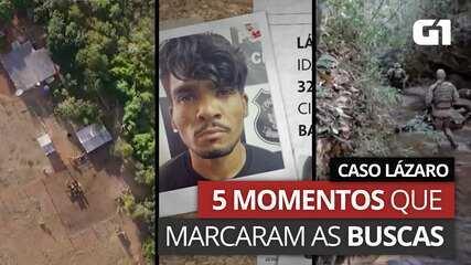 VÍDEO: Caso Lázaro Barbosa - 5 momentos que marcaram as buscas