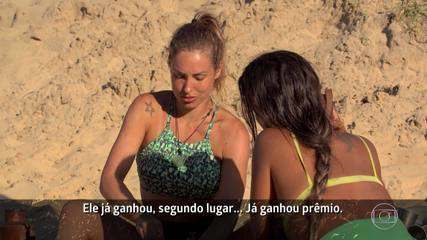 Jéssica conversa com Carol sobre Kaysar