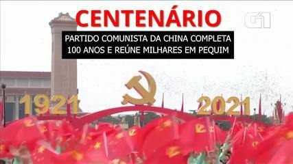 Video: The Communist Party of China turns 100 and gathers thousands at an event in Beijing