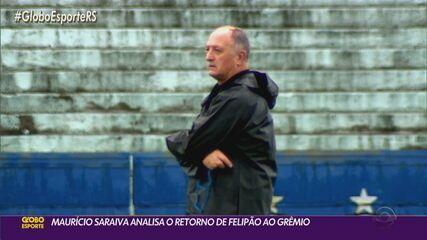 Maurício Saraiva analisa a contratação de Felipão para comandar o Tricolor