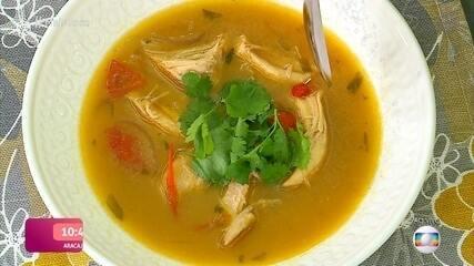 Sopa Tailandesa da Ana Carolina Garcia