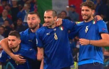 Melhores momentos: Itália 1 (3) x (2) 1 Inglaterra pela final da Eurocopa